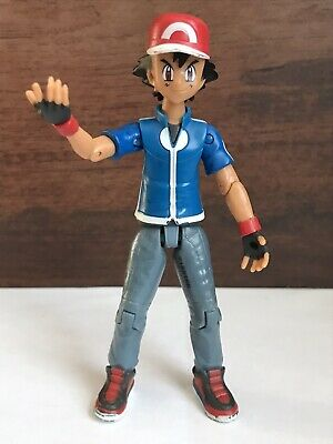 Tomy Pokemon 2015 Ash Trainer Figure