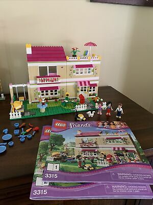LEGO Friends 3315 - Olivia's House - With Manuals - No Box