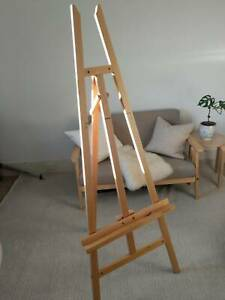 Timber Painting / Art Easel