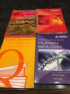Year 12 geography book textbooks gumtree australia free local wace exam questions and study guides fandeluxe Gallery