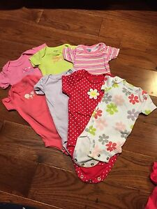 Small bundle of baby clothes