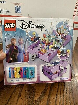 Lego 43175 Disney Frozen 2 Anna and Elsa's Storybook Adventures 133 pcs