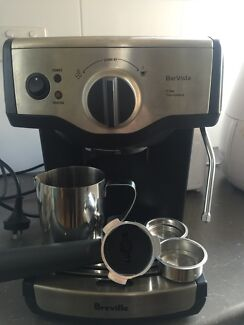 Breville Coffee Machine only used once  Macquarie Links Campbelltown Area Preview