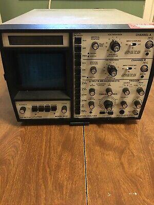 Sencore Sc61 Oscilloscope Parts Or Repair Only