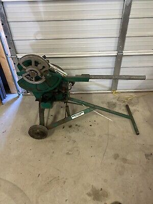 Greenlee 1818 Mechanical Bender W 12- 2 Rigid Shoes Emt Shoes Avail 8150