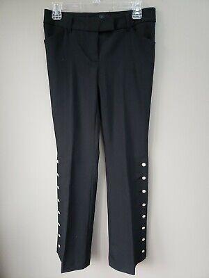 Womens Pants Disco Accent Black Pants Size 4 - Black Disco Pants