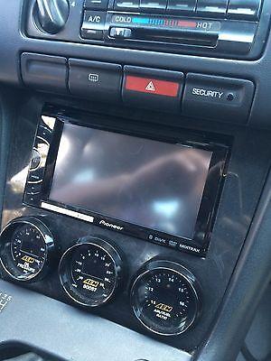 240sx Gauge Dash Finisher for Nissan s14 95-98 Aftermarket Interior Radio Bezel