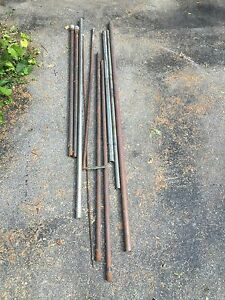 Copper, aluminum, and stainless steel pipe / bars