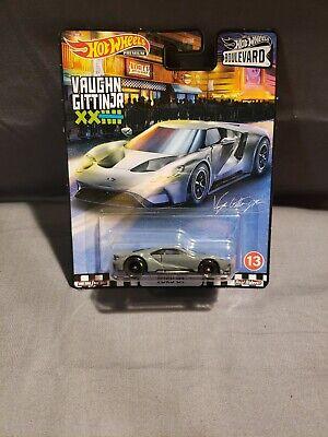 Hot Wheels FORD GT Vaughn Gittin Jr. Boulevard - Car Culture Premium