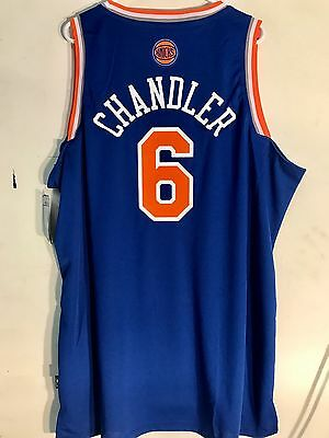 Adidas Swingman NBA Jersey New York Knicks Tyson Chandler Blue sz 2X