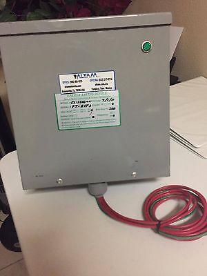 Power Factor Saver And Energy Savings Unit 3200