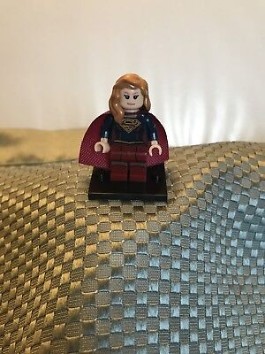 Custom DC Comic Lego Minifigure Supergirl From The CW Show Supergirl, New