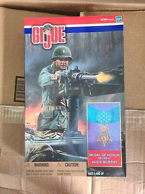 """RARE NIB GI JOE 12"""" Audie Murphy Medal of Honor Recipient Most Decorated Soldier"""