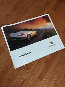 Vintage Porsche boxter poster