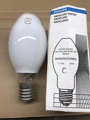 LOT OF 4 EYE MERCURY LAMPS H75//E17 75 WATT CLEAR STANDARD BASE
