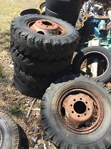 Free 8 bolt rims for scrap or yard project and scrap metal