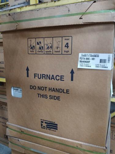 NORDYNE FG7TA-080C-VB1 80,000 BTU 2 STAGE UPFLOW/HORIZONTAL GAS FURNACE 80%