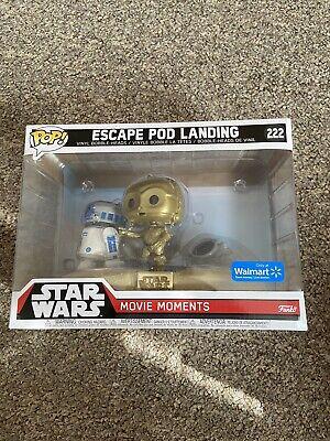 Funko Pop Star Wars Walmart Exclusive Movie Moments Escape Pod Landing #222