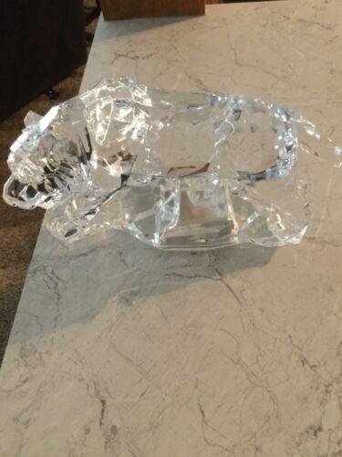 Tiger Icy Craft Tiger figure acrylic