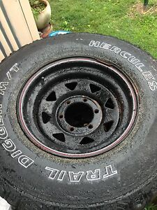 Toyota hilux rims and wheels Munruben Logan Area Preview