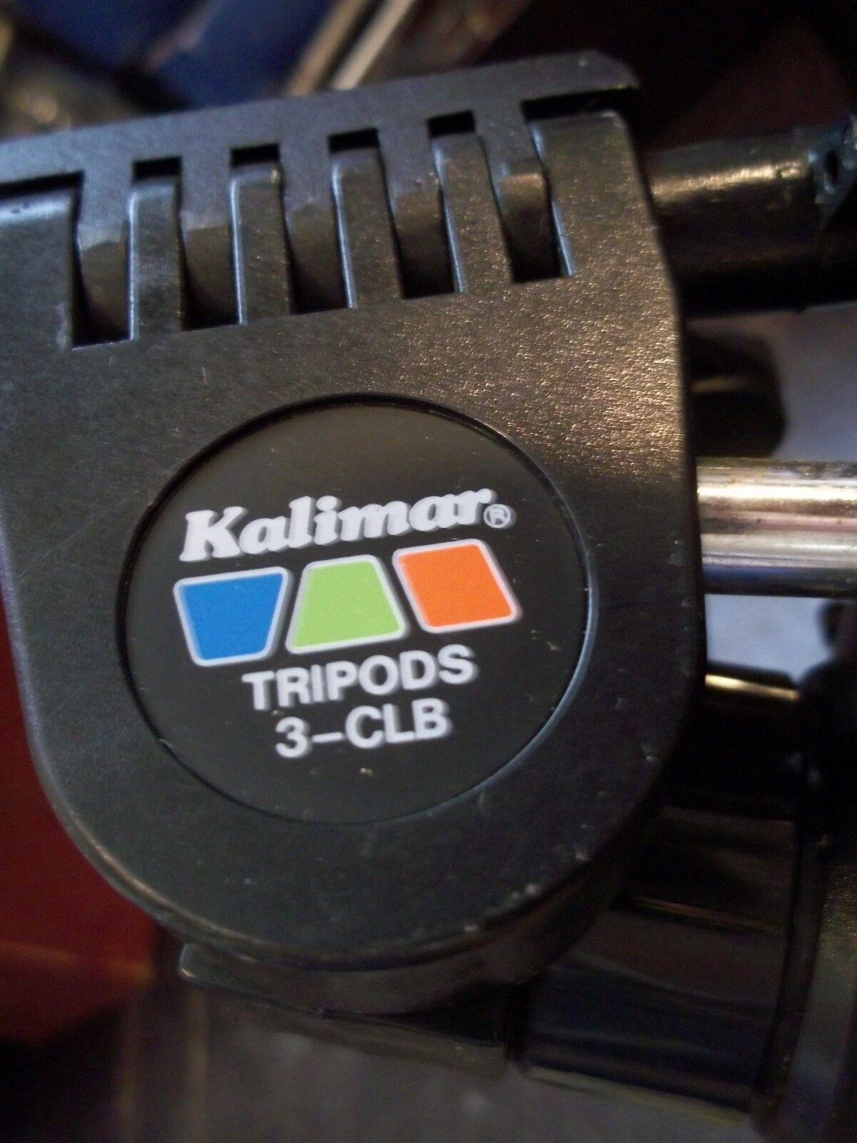 "PRISTINE KALIMAR 3-CLB 48"" ADJUSTABLE PROF TRIPOD SEE DETAILED PICTURES A BEAUTY"
