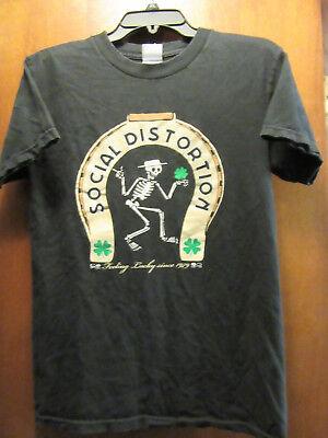 Social Distortion- Lucky Since 1979- Black T-Shirt- Small