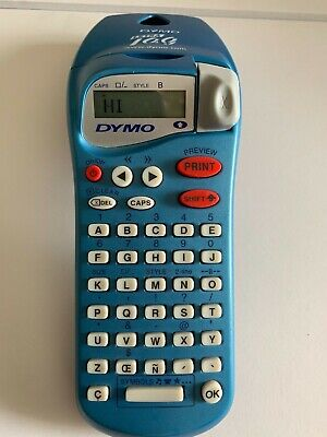 Dymo Letratag Label Maker Printer Handheld Personal Size Tested Works