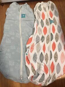 Ergo cocoon swaddle / sleepsuit / baby sleeping bag (0-3months)