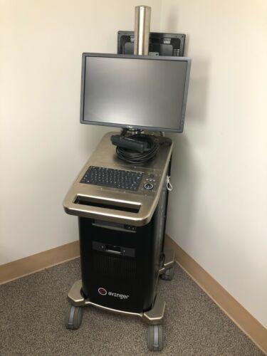 Avinger Lightbox L200 Lumivascular Imaging System w/ S100 Umbilical Sled