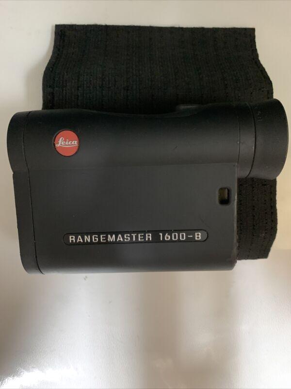 LEICA RANGEMASTER CRF 1600-B 40534 RANGEFINDER USED