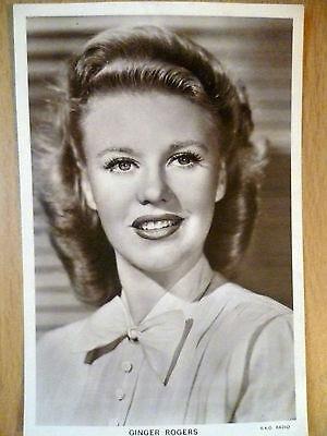 Vintage 1930s Picturegoer POSTCARD - Ginger Rogers