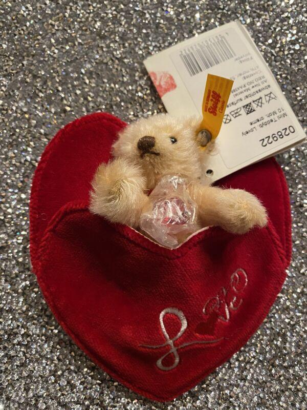 Valentine's Day Special❣️ Steiff Mini Teddy Lovely 028922