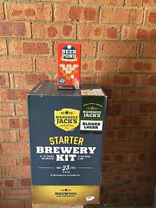 Home Brew Starter Kit (Mangrove Jacks)and Beer Pong kit(not used) Capital Hill South Canberra Preview
