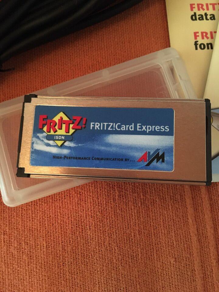 Fritz Card Express - ISDN Internet - wie neu in OVP in Woltmershausen
