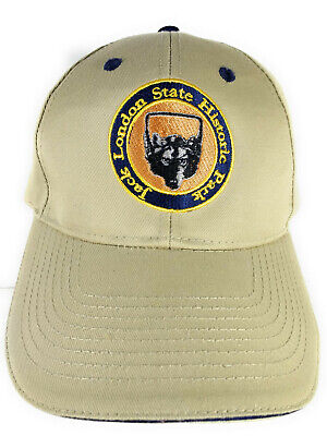 Jack London State Historic Park Sonoma California Baseball Style Hat Cap Beige for sale  Shipping to India