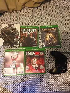 Xbox one games & controller for sale !