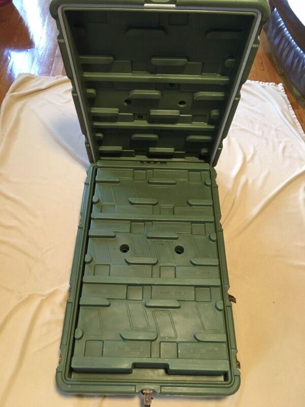 Military Surplus Hardigg Pelican 24 pistol Case 32x20x9.5 in.