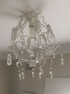 Small chandelier white bedroom kids Beverley Park Kogarah Area Preview