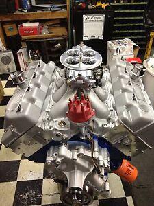 CUSTOM BUILT BOSS 429 FORD ENGINE 600CI KAASE/TM HEADS Payment Plans Available