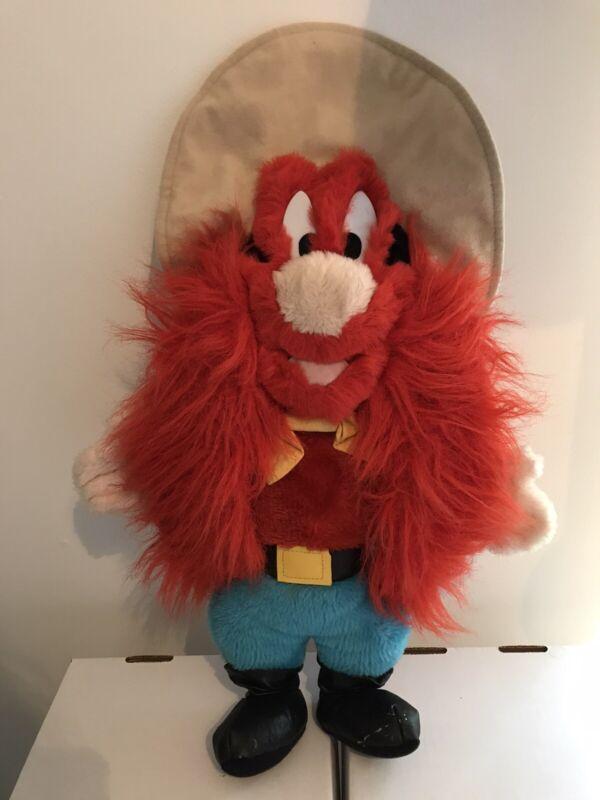 "Yosemite Sam 20"" Plush Looney Tunes 1995 Vintage Warner Bros Ace Novelty"