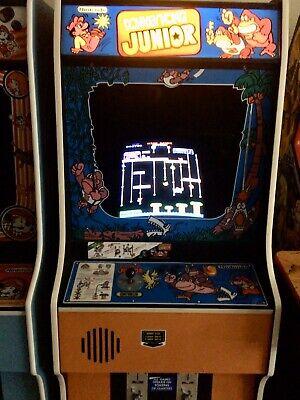 Arcade Machine,-Coin Operated,-Amusement,Nintendo,-,Donkey Kong Jr