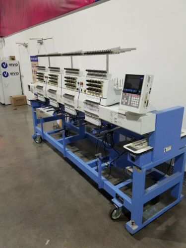 Happy Japan 4 head embroidery machine fully reconditioned