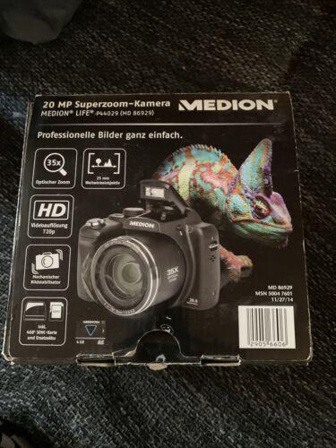 Superzoom Kamera 20 MP Medion P44029 komplett *TOP*