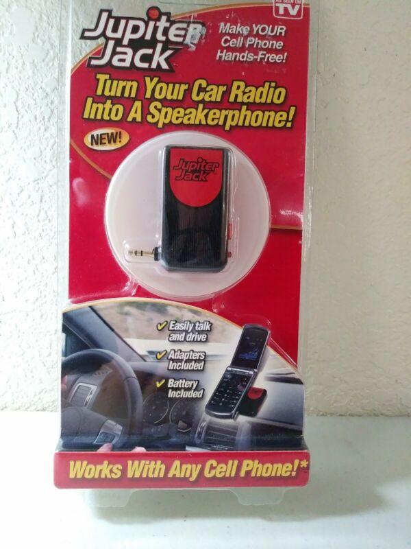 Jupiter Jack Turns a Car Radio into A speakerphone W/ 6 Adapters