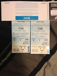 Flume General Admission Tickets Atwell Cockburn Area Preview