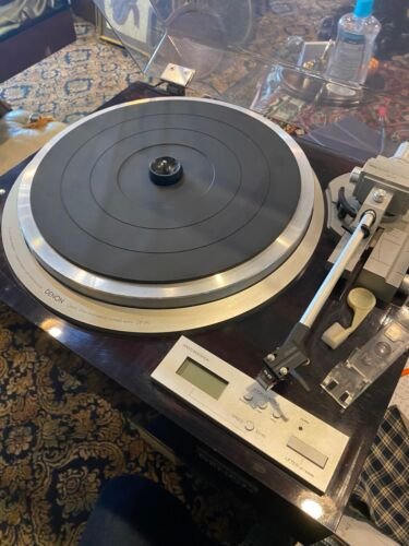 Denon DP-59L Direct Drive Auto-lift Turntable in Good Condition Working