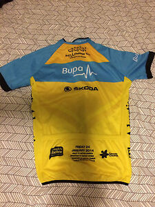 Men's Small Cycling Jersey santos TDU Bupa Challenge Kahibah Lake Macquarie Area Preview