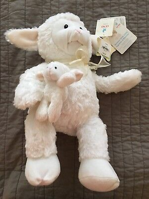 Gund Peek-A-Boo (peekaboo) Nursery Rhyme Time Lamb Animated Stuffed Animal NWT