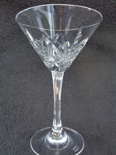 Waterford Crystal Brookside Marquis Collection Martini Glass