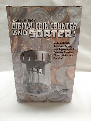 Digital Energy Digital Coin Counter And Sorter New